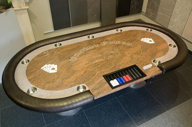 Poker granite